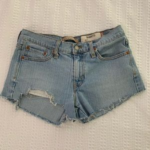 Levi's 515 Light Wash Jean Shorts Size: 8